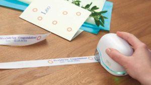 Personalisierung von Geschenkbändern