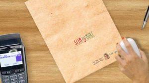 Personalisierung von Papiertüten
