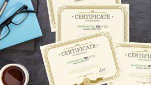 Personalisierung von Zertifikaten